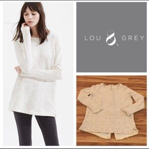 Lou & Grey Speckled Tunic with Back Zip